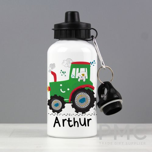 Personalised Tractor Drinks Bottle