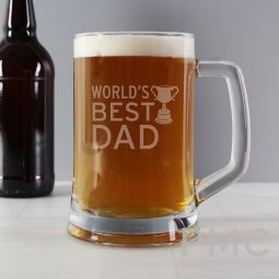 Worlds Best Dad Tankard