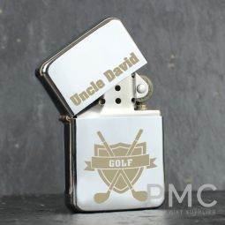 Personalised Golf Lighter