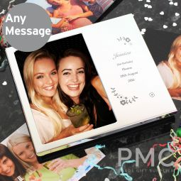 Personalised Vintage Floral 6x4 Photo Frame Album