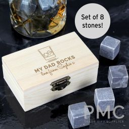 Personalised On The Rocks Whisky Stones