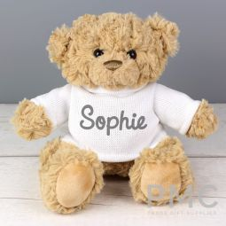 Personalised Name Only Teddy Bear