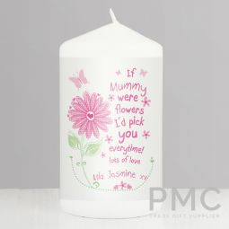 Personalised Id Pick You Candle
