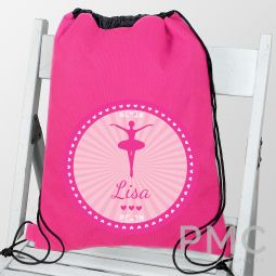 Personalised Ballerina School & Dance Bag