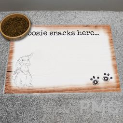 Personalised Scribble Bunny Placemat