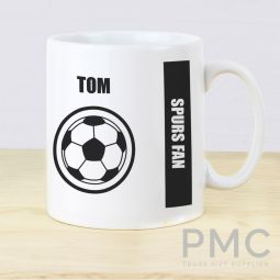 Personalised Football Fan Mug