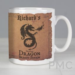 Personalised Dragon Breath Potion Mug