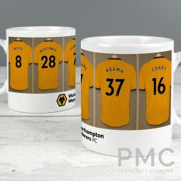 Wolverhampton Football Club Dressing Room Mug