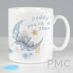 Personalised Tiny Tatty Teddy Daddy Youre A Star Mug