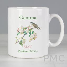 Personalised Country Diary May Mug