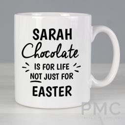 Personalised Chocolate Is For Life Milk Chocolate Bar