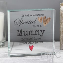 Personalised Someone Special Large Crystal Token