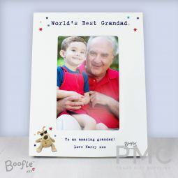 Personalised Boofle Stars 6x4 Photo Frame